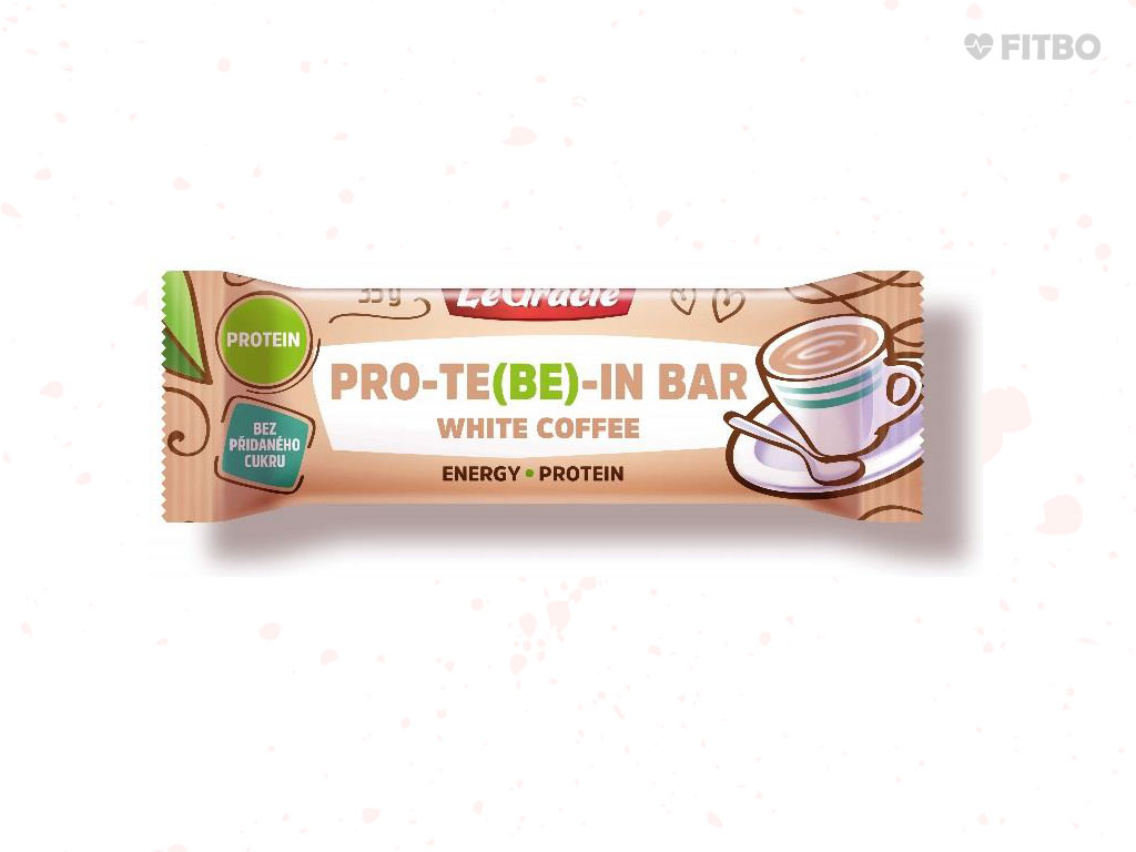 TYČINKA PRO-TE(BE)-IN BAR WHITE COFFEE